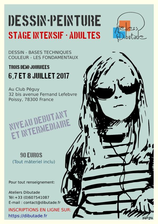 Affiche Stage Lorena M.