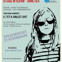 Affiche Stage Dessin/peinture Lorena