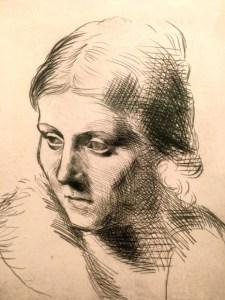 La parisienne - Olga Picasso