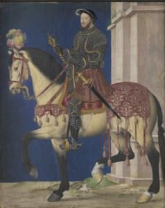 Jean Clouet, Portrait équestre de François Ier