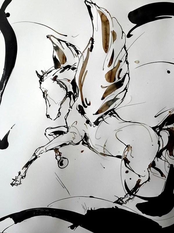 Cheval volant