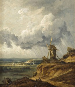 Le moulin d'Argenteuil, Georges Michel