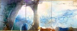 Hommage à Claude Monet - Zao-Wou-Ki 1991