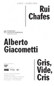 Alberto Giacometti et Rui Chafes