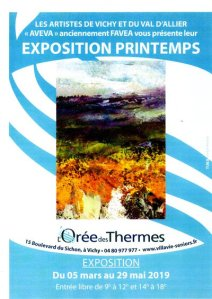 EXPOSITION DE PRINTEMPS par AVEVA