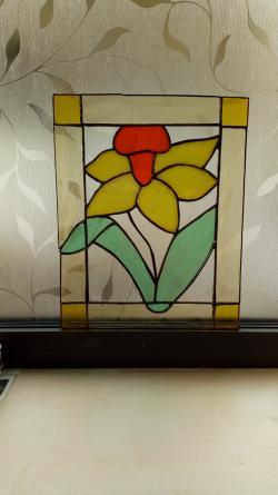 Découverte du Vitrail Méthode Tiffany.