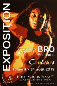 Exposition Cyrille Bro - Couleurs - Paris