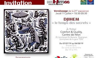 """Djihem - """"Le temps des secrets"""""""