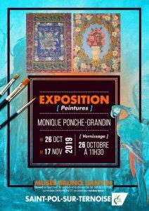 Peintures et sanguines de Monique PONCHE-GRANDIN