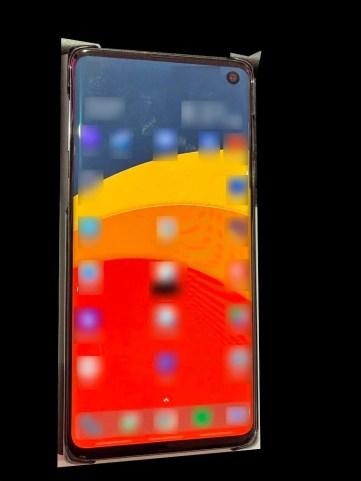 """Samsung Galaxy S10 também conhecido por """"Beyond 1,"""" photo by Evan Blass"""