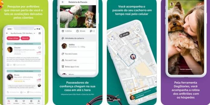 Telas Dog Hero App