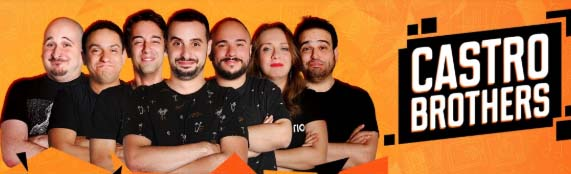 Os participantes do canal Castro Brothers - Foto Ilustrativa