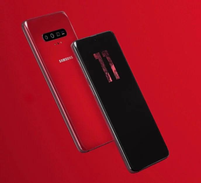Renderização do Conceito do Samsung S11 - Dica App do Dia