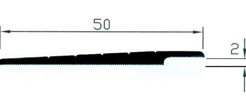 Rampa 2/4mm