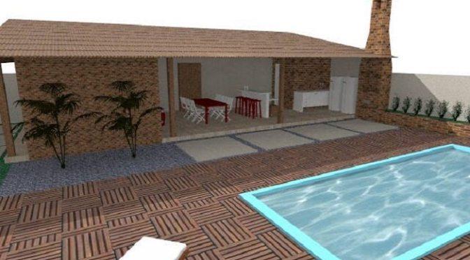 Garagem com churrasqueira dicas de arquitetura for Depuradora piscina pequena carrefour