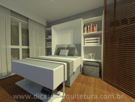 sala quarto - com cama - 3