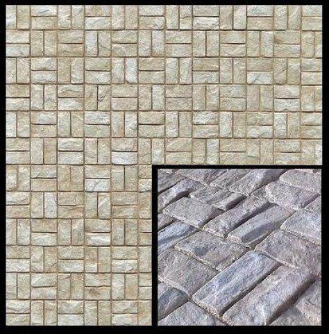 painel que imita pedra - texturise domino
