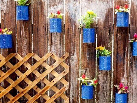 decoração com latas - nutreats