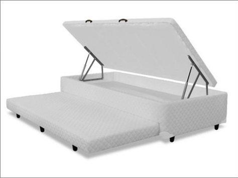 Box com baú e cama auxiliar - mb