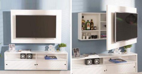 painel para TV com armário
