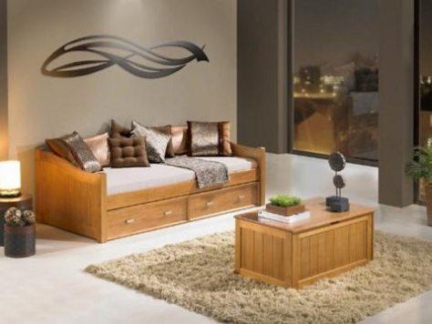 sofá e mesa de centro baú cerezo