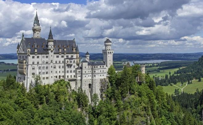 Castelo de Neuschwanstein (Crédito: Pixabay)