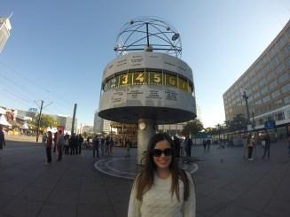 Relógio Universal na Alexanderplatz