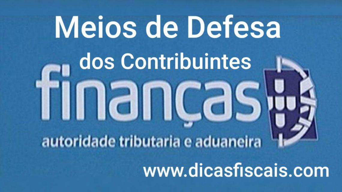 Meios de Defesa dos Contribuintes