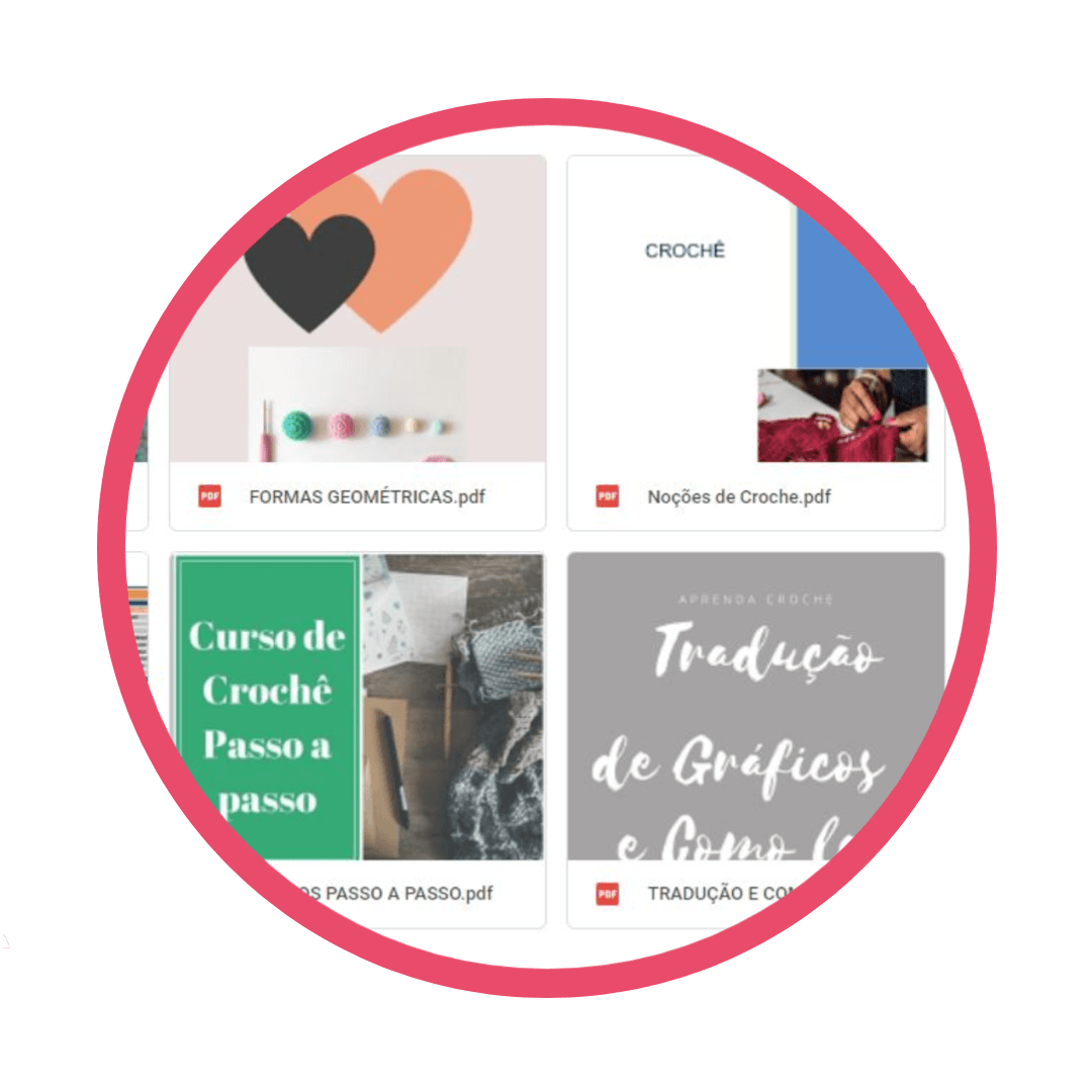 4- Apostilas 1 - Curso Aprenda Crochê