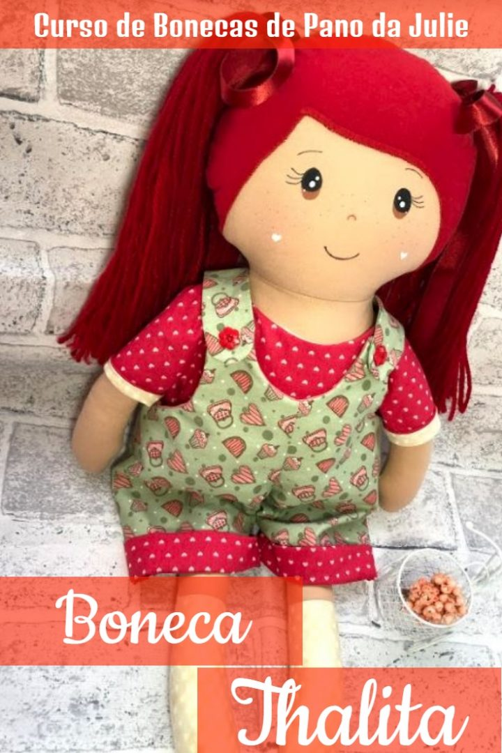Boneca de Pano - Thalita
