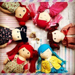 Curso de Bonecas de Pano com Julie Neves