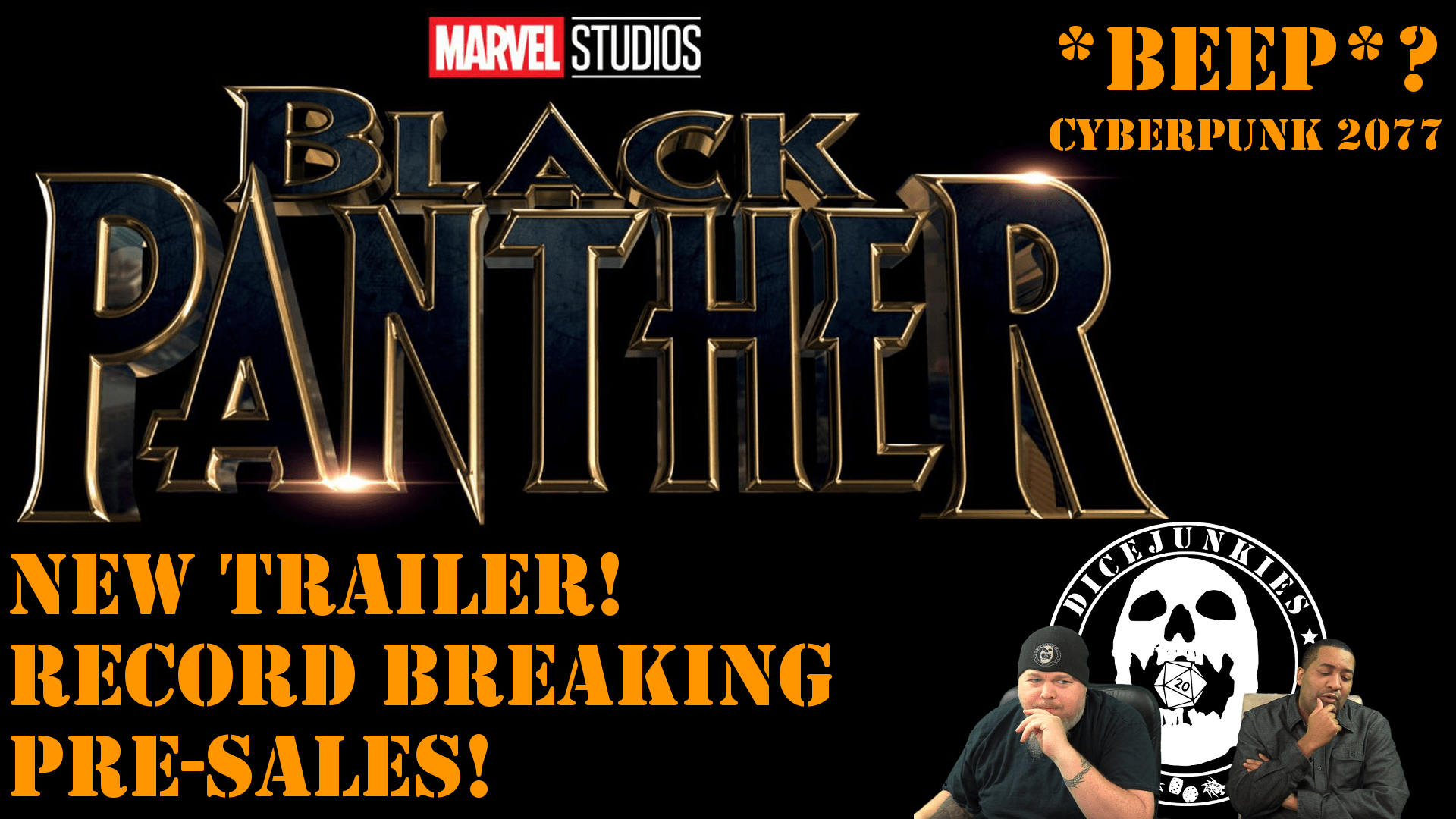 Stunning Black Panther Trailer and Pre-sales