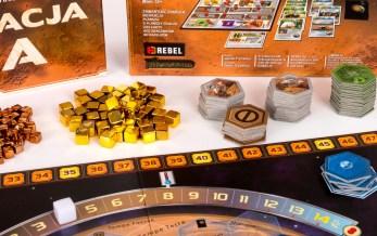 Elementy do gry Terraformacja Marsa