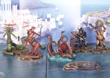 Pomalowane figurki do gry Cyklady