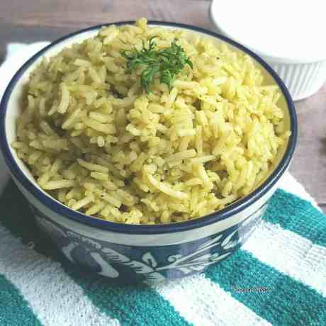 Mexican-green-rice