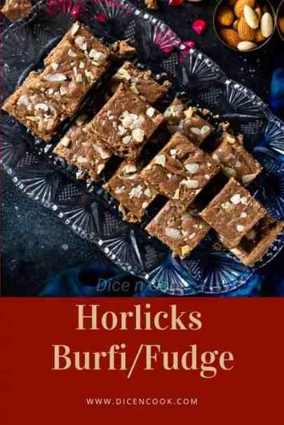 Horlicks-Burfi-fudge