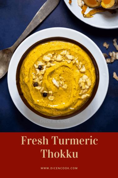 Fresh-turmeric-thokku