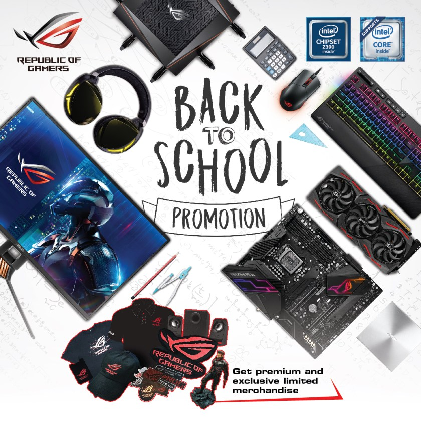 ASUS ROG back-to-school promo
