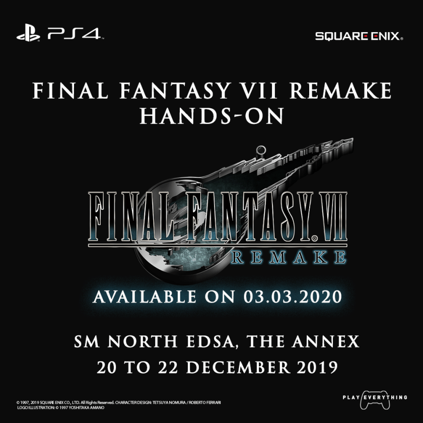 final fantasy vii remake hands-on philippines