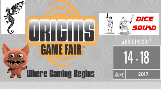 Dice Squad Origins Game Fair 2017 Promo