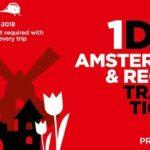 Hướng dẫn mua vé Amsterdam & Region Travel để di chuyển tiết kiệm nhất