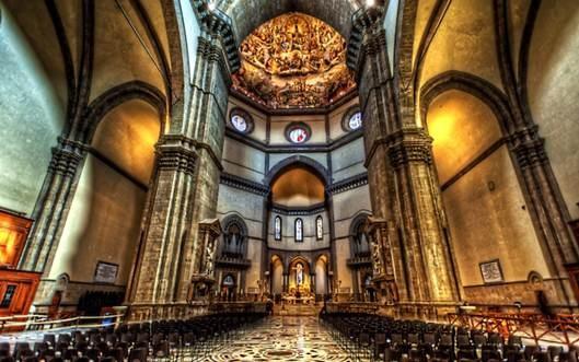 Mái vòm nhà thờ Santa Maria del Fiore- Công trình kiến trúc vĩ đại - Ảnh 7