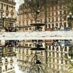 Paris đẹp ngỡ ngàng khi được chụp trong… vũng nước