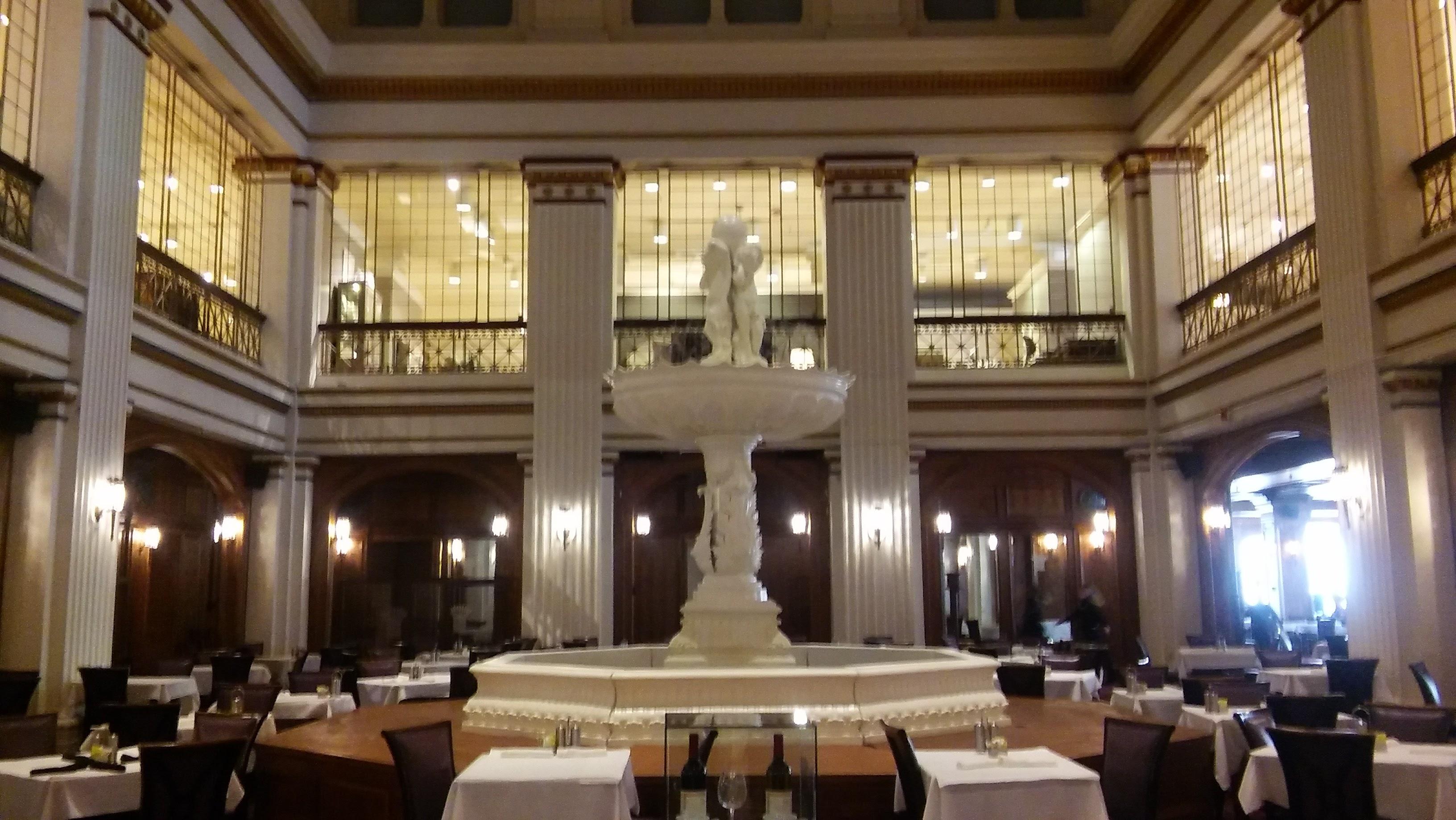 The Lobby of the Walnut Room