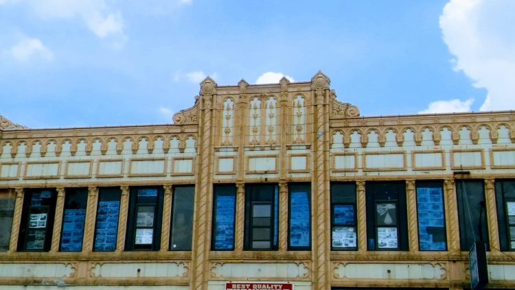 Englewood Art Deco Bldg. (c)2016, JSB*Art. All Rights Reserved.