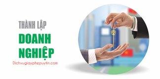 Đăng ký thành lập doanh nghiệp - Loại hình Doanh nghiệp tư nhân