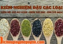 Kiểm nghiệm đậu các loại - kiểm nghiệm ngũ cốc (Ảnh: DVU)