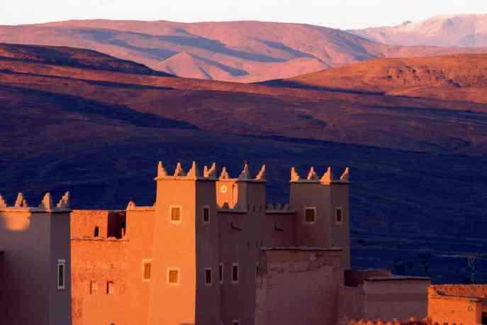 La Kasbah de Nkob - sud marocain