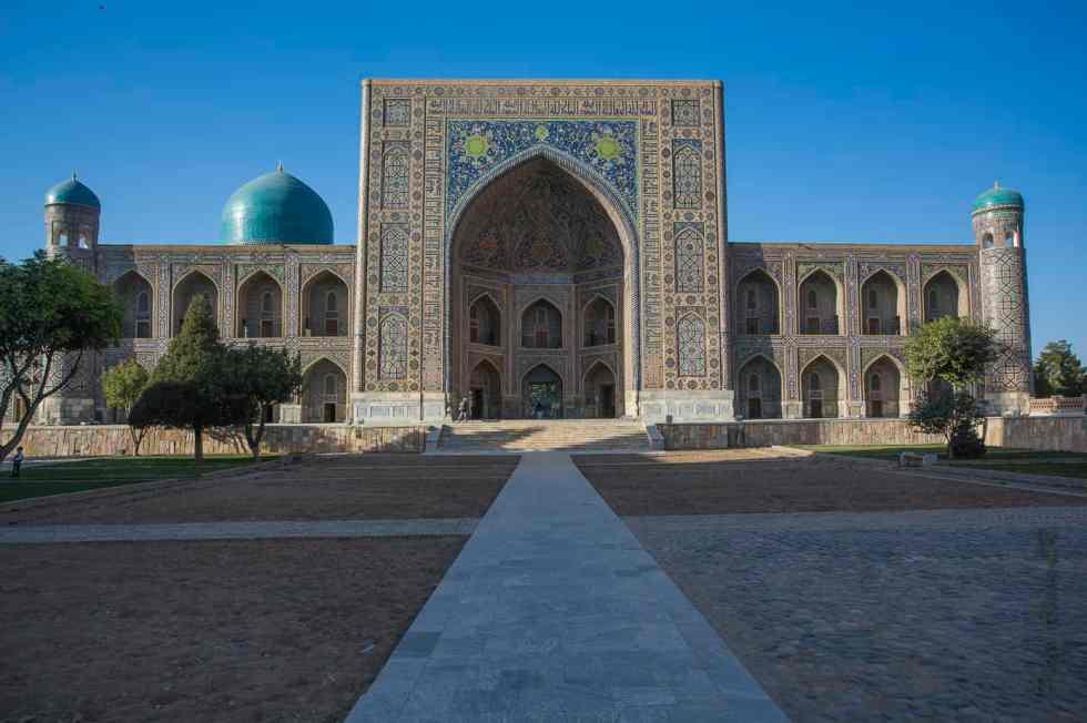 Madrassa de Tilla Kari - Place du Registan