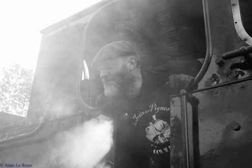 Un vrai train à vapeur